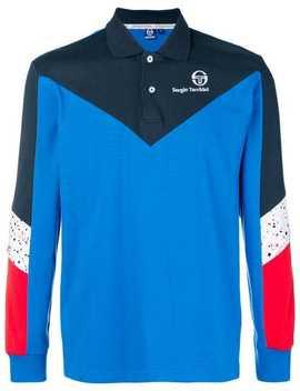 Colourblock Polo Shirt by Sergio Tacchini