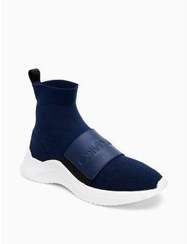 Uni Knit High Top Sneaker by Calvin Klein