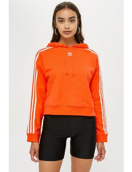 Three Striped Crop Hoodie By Adidas by Topshop