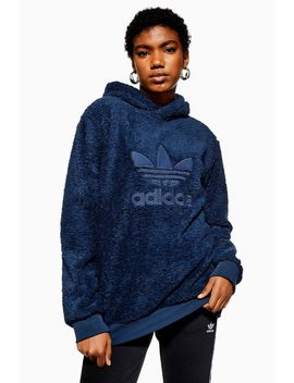 Sherpa Hoodie By Adidas by Topshop