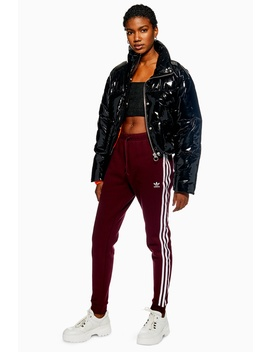 Cuffed Side Stripe Track Pants By Adidas by Topshop