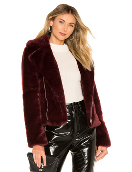 Shura Faux Fur Jacket by Alexis