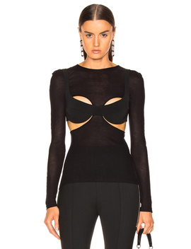 Sheer Top by Dion Lee
