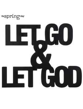 Let Go & Let God Metal Wall Decor by Hobby Lobby