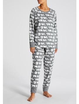 Family Polar Bear Christmas Pyjama Set by Matalan