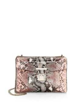 Small Marianne Python Shoulder Bag by Jimmy Choo