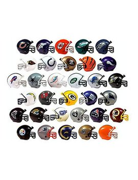 Nfl Collectible 32 Teams Mini Helmets Set, 2 Inch Each by Unbranded