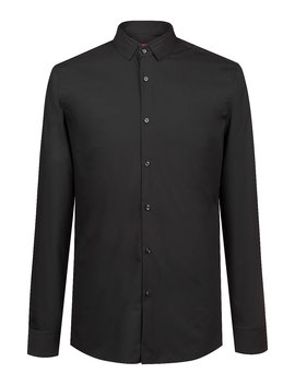 Extra Slim Fit Cotton Shirt With Easy Iron Finishing by Boss
