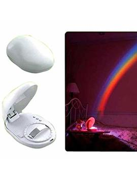 Led Rainbow Projector Room Night Light W/3 Display Mode by East Vita