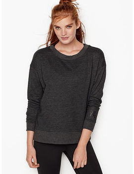 Fleece Oversized Crew by Victoria's Secret