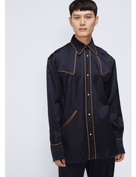 Satin Shirt by Dries Van Noten