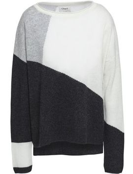 Charlo Color Block Cashmere Sweater by Charli
