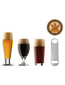 Libbey® Beer Craft Brew 25pc Assorted Beer Glasses by Libbey Glass