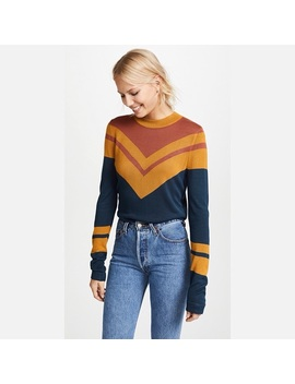 Nwt Free People Show Me Your Stripes 70's Sweater by Free People