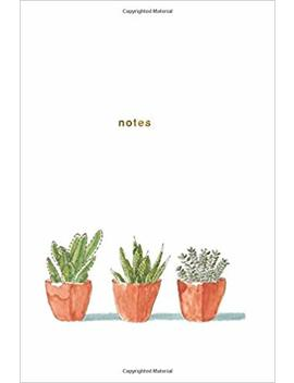 Notes: Succulent Plant Notebook 175 Page College Ruled Notebook (Succulent Notebook) (Volume 1) by Nifty Notebooks