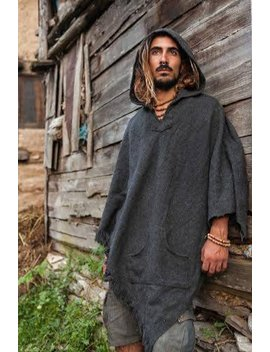 Wool Poncho~ Unisex ~ by Etsy