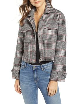 Bishop + Young Houndstooth Plaid Jacket by Bishop And Young