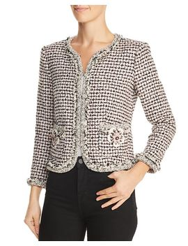 Houndstooth Tweed Jacket by Rebecca Taylor