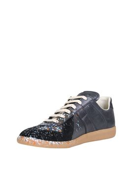 Maison Margiela Paint Splatter Replica Sneakers by Maison Margiela
