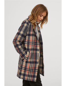 Mixed Wool Coat by H&M