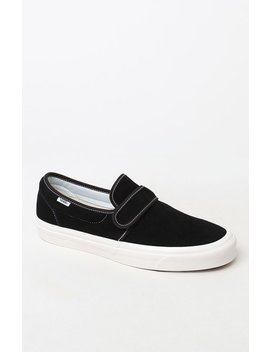 Vans Anaheim Factory Slip On 47 V Dx Black & White Shoes by Pacsun
