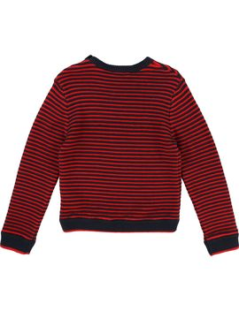 Boys Stripped Knitted Sweater by Zadig & Voltaire