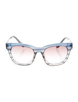 Cat  Eye Gradient Sunglasses by Derek Lam