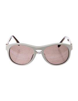 Tinted Round Sunglasses by Fendi