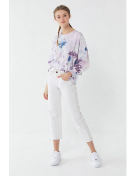Uo Courtland Tie Dye Long Sleeve Tee by Urban Outfitters