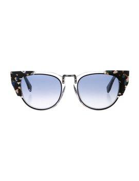 Gradient Cat Eye Sunglasses by Fendi