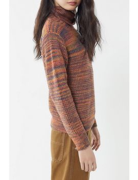 Uo Space Dyed Turtleneck Sweater by Urban Outfitters