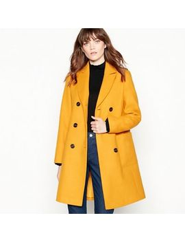 Red Herring   Yellow Utility Double Breasted Coat by Red Herring