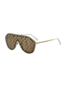 Men's Ff Shield Sunglasses by Fendi