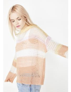 Malibu Sunrise Knit Sweater by Wild Honey