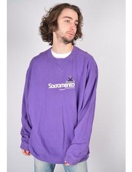 Vintage Reebok Sacramento Monarchs Sweatshirt In Purple by Reebok