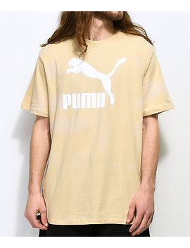 Puma Archive Life Khaki T Shirt by Puma