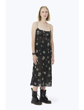 Floral Embroidered Chiffon Dress by Marc Jacobs