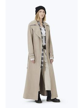 Contrast Stitching Trench Coat by Marc Jacobs