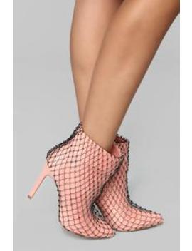 So Extra Booties   Blush by Fashion Nova