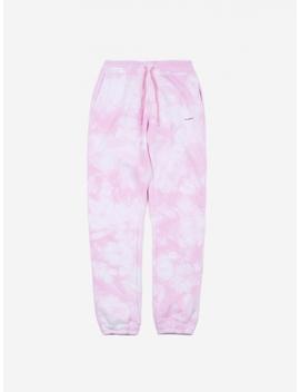 Dent Drawstring Sweatpant   Pink Tie Dye by Soulland