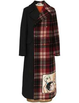 Double Breasted Manga Wool Coat by Gucci