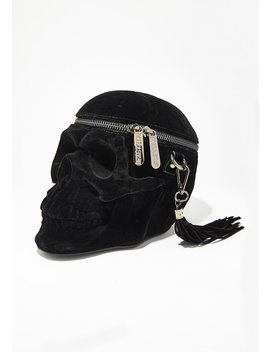 Velvet Grave Digger Handbag by Killstar