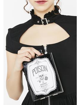 Pure Poison Clutch Bag by Killstar