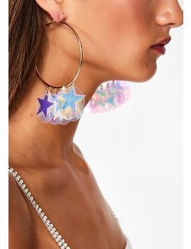 Starchild Hoop Earrings by Ciel