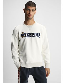 Heritage Logo Crew   Sweater by Abercrombie & Fitch