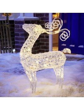 Wilko Large Christmas Light Up Reindeer Wilko Large Christmas Light Up Reindeer by Wilko