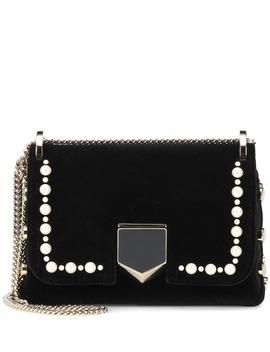 Lockett Mini Velvet Shoulder Bag by Jimmy Choo