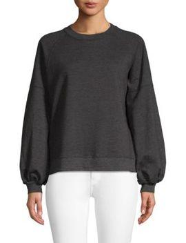 Balloon Sleeve Sweatshirt by Pure Navy