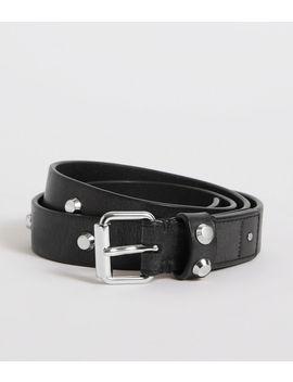 Nadia Leather Belt by Allsaints