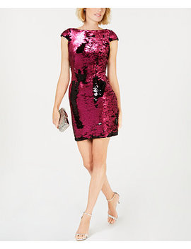 Sequined Sheath Dress by Adrianna Papell